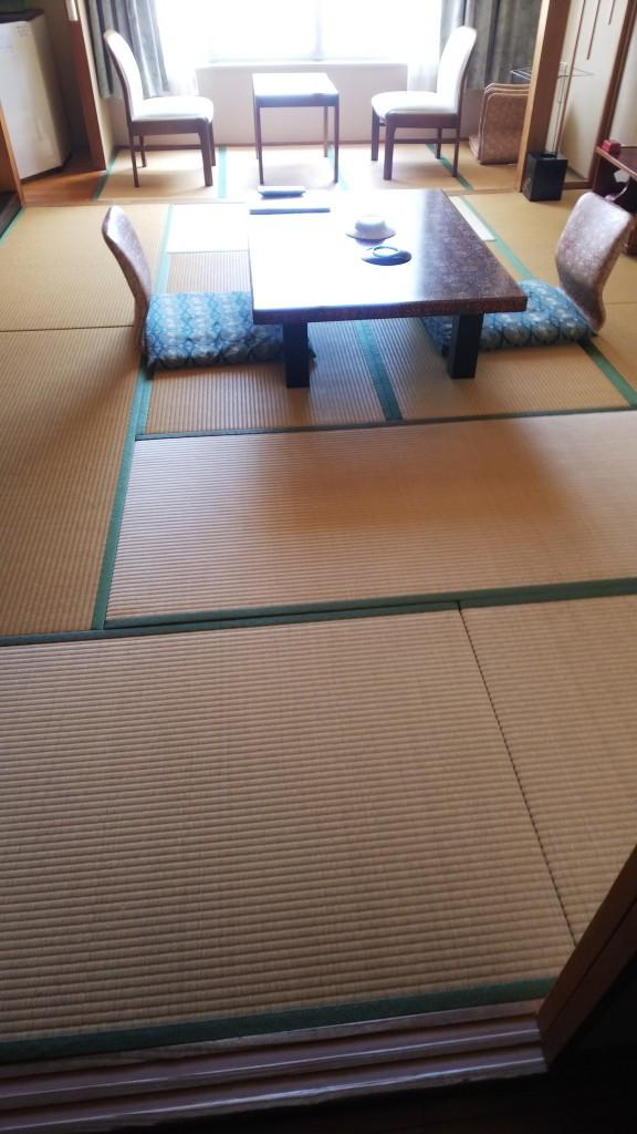 十和田湖畔ホテル十和田荘様の、今年の畳入替工事全て完了しました。